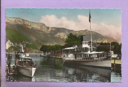74 -  ANNECY - Le Port Et Le Mont Veyrier - Annecy