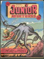No PAYPAL !! : Junior Aventures 64 Scaphandrier Pécheurs De Perles ( Pieuvre ) ,RC Petit Format PF Remparts BE+ 1956 - Formatos Pequeños