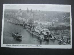 STETTIN, Karte Um 1940 - Pommern