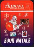 ITALIA 1995 - CALENDARIO TASCABILE - LA TRIBUNA DEL COLLEZIONISTA - BUON NATALE - Formato Piccolo : 1991-00