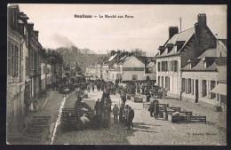 DOULLENS . Le Marché Aux Porcs . - Doullens