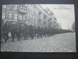 LITAUEN , Karte Um 1916 - Lithuania