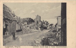 LANGERMARCK 1916       AFTER  FRENCH  AND  ENGLISCH  BOMBATTACK - Langemark-Poelkapelle