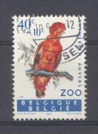 BELGIE - OBP Nr 1216 V1 - Rotshaan - Gest./obl. - Plaatfout/Variété - Cote 7,50 € - Variétés (Catalogue COB)
