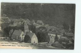 Lyons La Forêt : Vue Panoramique. 2 Scans. Edition Crochet - Lyons-la-Forêt