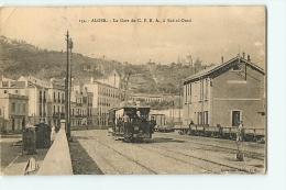 Alger : La Gare Du C F R A à Bab El Oued. 2 Scans. Edition Collection Idéale P S - Algiers