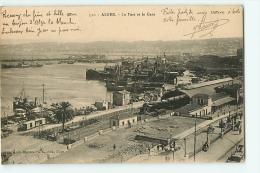 Alger : Le Port Et La Gare. 2 Scans. Edition Collection Régence A L - Algiers