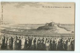 La Fête De La Fédération Le 14 Juillet 1790. 2 Scans. Edition Nathan - Histoire