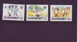 G 85  Michel Nr. ?? Europa 1989 - Guernsey