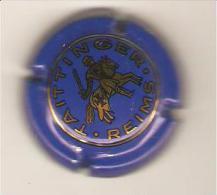 CAPSULE MUSELET CHAMPAGNE TAITTINGER REIMS (or Sur Bleu) - Taittinger