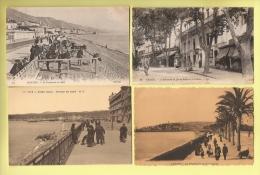* LOT N°137 De 10  CPA   : ( Dépt 06 )..Divers Alpes Maritimes - Belle Animations.. ( Toutes Scannées ) - Cartoline