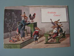 == A . Thiele   Hasenschule   Bug Ecke  Tübbeingen Feldpost 1915 - Thiele, Arthur