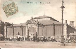 NARBONNE (11) Halles Centrales En 1907 - Narbonne