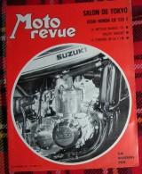 MOTO REVUE. N°2002. NOVEMBRE 1970. SALON DE TOKYO HONDA CB 125 S. MOTEUR WANKEL. RALLYE VINCENT - Auto/Moto