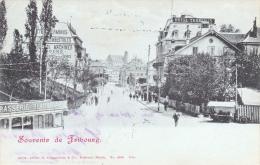 568/ Souvenir De Fribourg, Trollybus Of Tram, 1901 - FR Fribourg