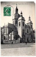 CP, 71, CHALON-sur-SAONE, Eglise Saint-Pierre, Voyagé En 1908 - Chalon Sur Saone