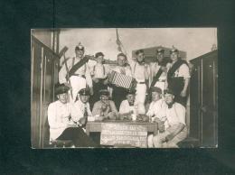 Carte Photo - HANAU  - Militaria Stube 120 Im Rekruten Depot 1915 ( Guerre Krieg 1914;1918 Cachet Censure Haguenau P.K. - Hanau