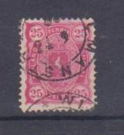Finnland 1890  Mi.Nr. 17a , Freimarke Wappen - Gestempelt / Used / (o) - Finland