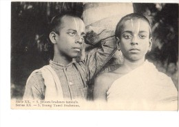 ASIE----INDE-- Jeune Brahmes Tamouls--( Bouddhisme ? )--voir 2 Scans - Inde