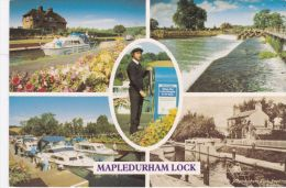 MAPLEDURHAM LOCK MULTI VIEW - Inghilterra