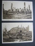 Brest-Litowsk  ,  Берасьце Bjeraszje,  2 Karten Um 1916 - Belarus
