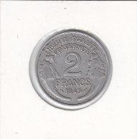 2 FRANCS  Alu MORLON 1949 - Frankreich