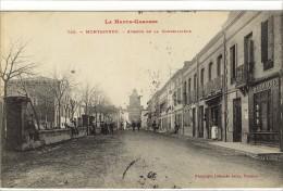 Carte Postale Ancienne Montastruc - Avenue De La Conseillière - France