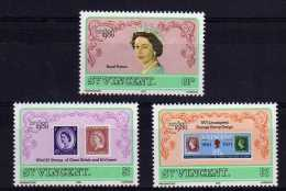 "St Vincent - 1980 - ""London 1980"" International Stamp Exhibition - MNH - St.Vincent (1979-...)"