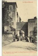 Carte Postale Ancienne Palaminy Près Cazères - La Porte (passage De La Grande Route) - France