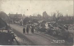 LANGEMARCK                 MEI    1917       RUINES   HOOFDSTRAAT - Langemark-Poelkapelle