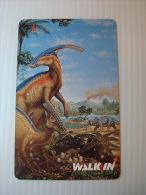 Xerox Prepaid Copy Card: Dinosaur (2), USED - Phonecards