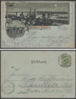Deutschland - Karte - Gruß Aus Thorn - Eisenbahnbrücke - Trains