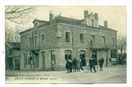 Loire, Saint-Pierre-du-Boeuf, Hôtel De La Gare. - Hotels & Restaurants