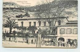 GIBRALTAR  - The Library. - Gibraltar