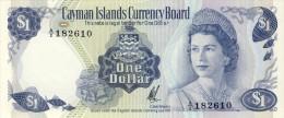 BILLET # ILES CAYMAN  # 1972 # PICK 1 # UN DOLLAR   # NEUF # - Iles Cayman