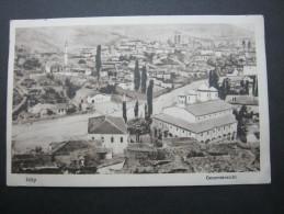 Istip, Karte Um 1915 - Macedonia