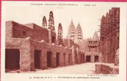 004 EXPOSITION COLONIALE INTERNATIONALE  PARIS 1931  Palais De L´A.O.F. Les Boutiques Soudanaises - Expositions