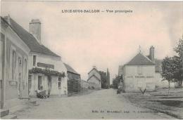 Carte Postale Ancienne De LUCE SOUS BALLON - France