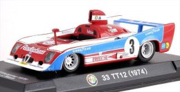 ALFA ROMEO 33 TT 12 Nurburgring 1975 # 3 - 1/43     With Showbox - Unclassified