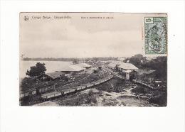 Congo Belge - Léopoldville - Gare à Marchandise Et Ateliers, Trains - Kinshasa - Léopoldville