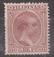 FLPN130-L3602TCFR.Philipi Nes.Alfonso  Xlll.FILIPINAS ESPAÑOL.1896/7.(Ed  130**) Sin Charnela.MAGNIFICO - Familias Reales