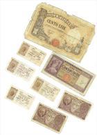 CARTAMONETA ITALIANA - LOTTO 5114 LIRE - QUALITA´ - B - 8 ESEMPLARI - Monete & Banconote