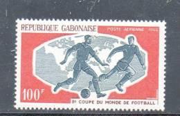 GABON N° PA 47 ** - COUPE DU MONDE DE FOOT - Cote 2.70 € - World Cup