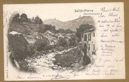 SAINT- PIERRE (Martinique) - 5. -- La Roxelane. -- Carte Précurseure, Voyagée - Martinique