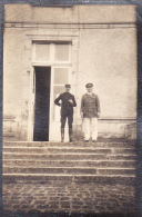 Photo Originale 1915/1916 PASSY (près Sens) - L'Hôpital Américain, Le Lieutenant Fliht (A42) - France