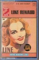K7 Audio.Line RENAUD.Longue Durée 32 Titres. Le Complet Gris, Quand Madelon Etc. - Cassettes Audio