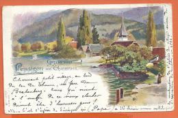FEL062, Gruss Von Leissigen Am Thunersee, Précurseur,  Circulée 1898 - BE Berne