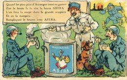 Publicité Margarine ASTRA Avec Des Piou Piou D'auvergne - Humour
