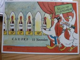 """-46- CAHORS, Salon 93- """"Les Oies ,cérémonie Du Palmarès """" Dédicace De GUS. - Cahors"""