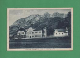 Montagna Belluno+PREVENTORIO DI ROVIGO - LAGGIO DI CADORE,m.953.-Viaggiata Nel 1939 - Belluno